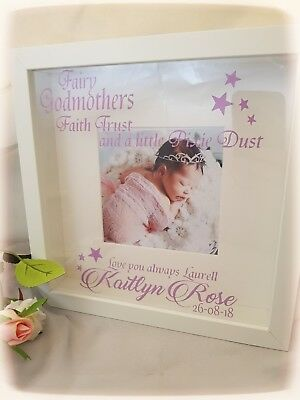 Personalised Godmother/ Godfather  FRAME - 6 designs