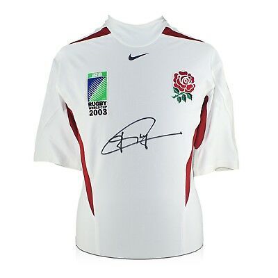 Jonny Wilkinson Signed Rugby World Cup 2003 Player Issue Shirt Autographed
