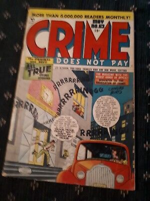Crime Does Not Pay #63 VG