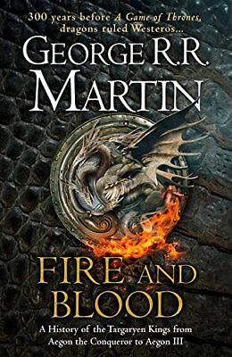 Fire and Blood: 300 Years Before A Game of Thrones PRE ORDER NOW HARDCOVER NEW