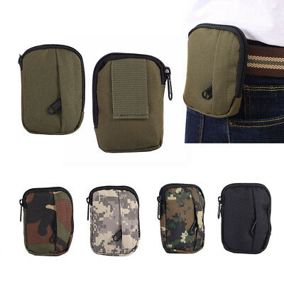 Fj- Mini Outdoor Tactical Molle Waist Pack Camping Hiking Phone Pouch Belt Bag F