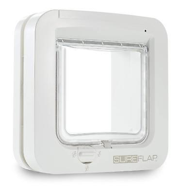 SureFlap Cat Flap with Microchip Identification, 21 x 21 cm, White