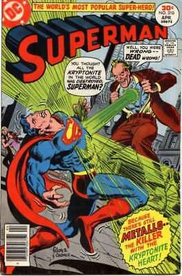 Superman (1939 series) #310 in Very Fine + condition. DC comics