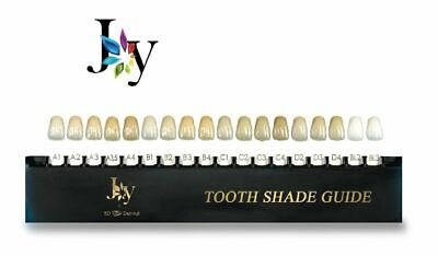 House Brand Joy Universal Tooth 16 Shade Dental Laboratory Guide