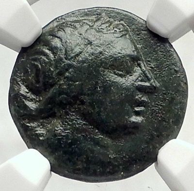 PERGE PAMPHYLIA Authentic Ancient 170BC Greek Coin ARTEMIS NGC Certified i73106