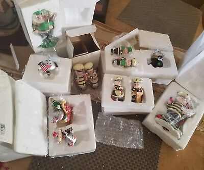 HERSHEY CHRISTMAS ORNAMENTS - GREAT COLLECTION / LOT OF 23 - All with tags