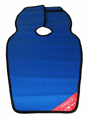 House Brand XAP-BL X-Ray 0.3 mm Medical Grade Lead Apron Panoramic Poncho Blue