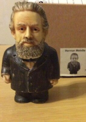 NIB Harmony Ball POT BELLYS Herman Melville Historical Figurine Gift