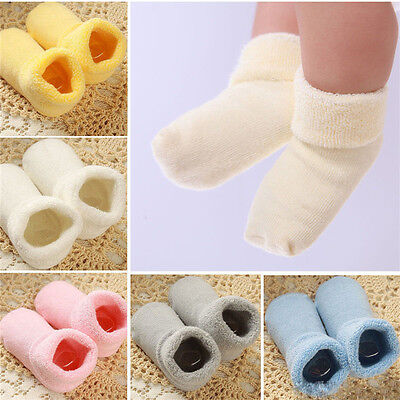 Baby Unisex Newborn Winter Warm Boots Toddler Infant Soft Socks Booties Shoes I$