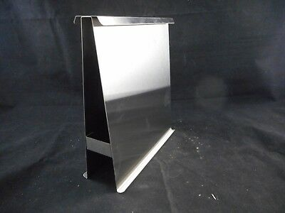 """GENERAL GLASS Stainless Steel Rack Two-Plate 8 x 7.5 x 3"""" for TLC Chambers 80-6"""