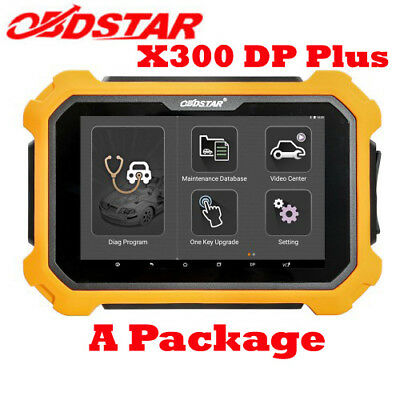 OBDSTAR X300 DP Plus X300 PAD2 A Package Basic Version OBD2 Special Function