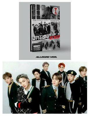 EXO 5th Album Don't Mess Up My Tempo Vol. 5 [Allegro ver.] CD+Booklet+Photocard