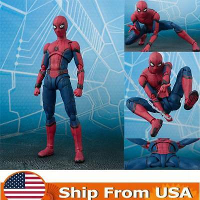 S.H.Figuarts Marvel Spider-Man Homecoming Spiderman Hero Action Figure Xmas Toys