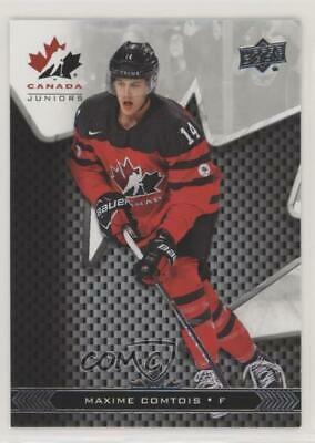 2018 Upper Deck Team Canada Juniors #14 Maxime Comtois (National Team) Max Card