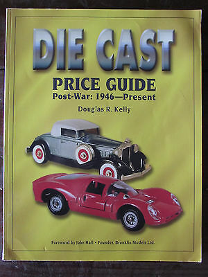 1997 Die Cast Toy Price Guide-Post-War-1946-Present-Book-Douglas Kelly-Paperback