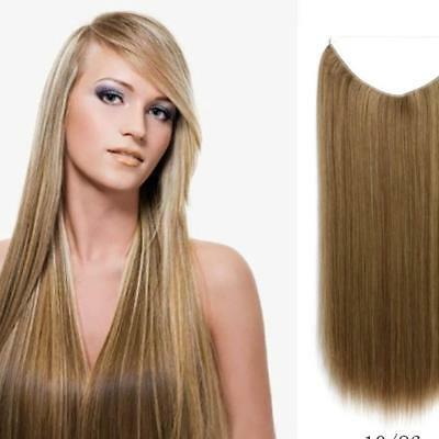 Hidden Invisible Hairpiece Secret Miracle Straight Hair Extensions