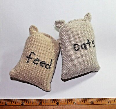 Mini Play Feed Sacks Oats Grain Bag Stable Barn Amish Made Lancaster County USA