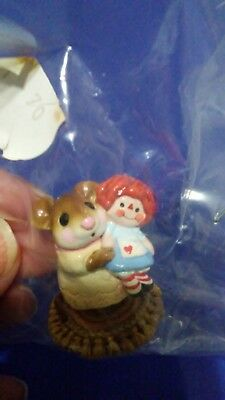 "Wee Forest Folk Collectible #M 70. ""Me and Raggedy Ann"""