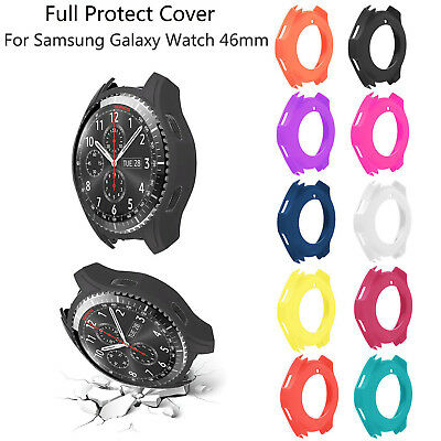 Protective Silica Gel Case for Samsung Galaxy Watch 46mm Cover TPU Bumper Shell
