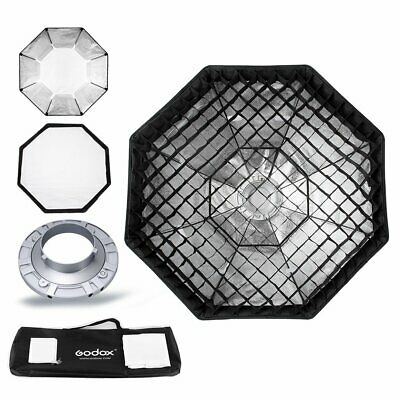 Godox 95cm Octagon Softbox Bowens Mount + Gitter + Tasche Set