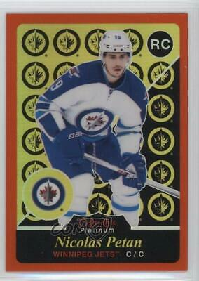 2015-16 O-Pee-Chee Platinum Retro Rainbow Orange /49 Nicolas Petan #R98 Rookie