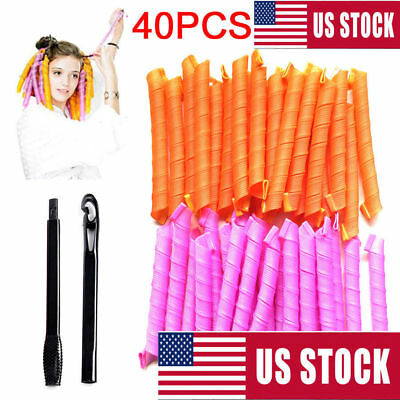 NEW 20/30/50cm Magic Hair Curlers Curl Formers Spiral Ringlets Leverage Roller