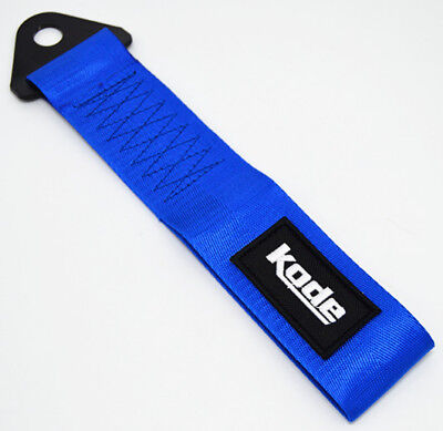 Kode-Blue Tow Show StrapTowing Eye Pull Hook Rope Car Styling JDM Euro