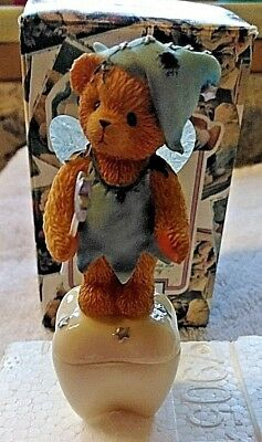Enesco 1998 Cherished Teddies Tooth Fairy 790516 Wings