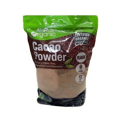 Organic Raw Cacao Powder 1Kg-Superfood Perfect For Baking Deserts Hot Chocolate