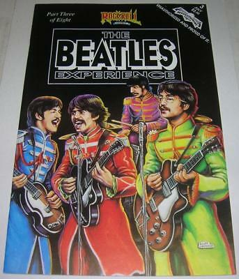 THE BEATLES EXPERIENCE #3 (Revolutionary Comics 1991) RARE 1st PRINT (VF-)
