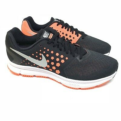 025f1a3bcbd3 NIke Air Zoom Span Womens Running Shoe Black 852450-001 Size 11.5 New
