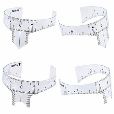 Tattoo Accessory Microblading Reusable Makeup Eyebrow Guide Ruler Permanent Tool
