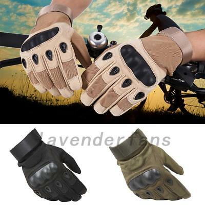 Tactical Driving Work Gloves Full Finger Military Army Combat Airsoft Petrol AU
