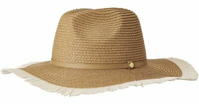 f054bf3b71d Luxury Lane Women s Brown Large Bow Floppy Sun Hat.  24.99 Buy It Now 5d  17h. See Details. BCBGMAXAZRIA Frayed Panama Floppy Sun Hat Straw Tan  Natural NWT ...