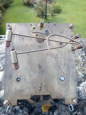 Vintage 3 Chime German Clock Movement. Possibly 8 Day. DRGM