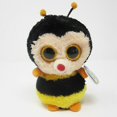 Ty Beanie Boo small Sting the Bumble Bee soft toy plush 2012 6