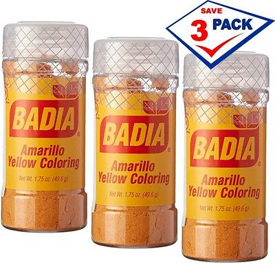 Badia Amarillo Yellow Coloring Rice
