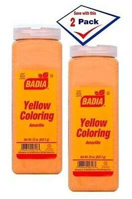 4 BADIA AMARILLO Yellow Coloring 1.75 OZ EACH \