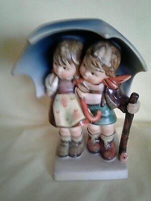 "Vintage Goebel Hummel #71 Stormy Weather 6 1/4"" Figurine - Tmk 5"