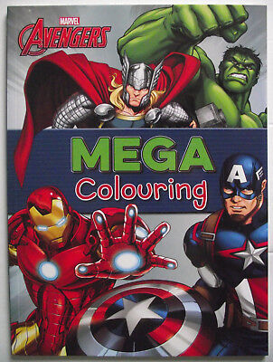 Marvel Avengers Colouring Book. Childrens' New Parragon Colouring Book