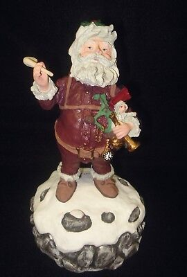 "Duncan Royale ""Musical Nast"" Christmas Santa Claus 1990 1st Event Edition #0260"