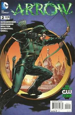 Arrow (2013 series) #2 in Near Mint condition. DC comics