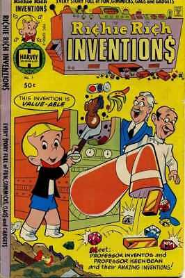 Richie Rich Inventions #1 in Very Good + condition. Harvey comics
