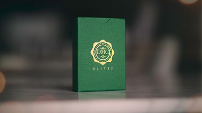 DMC ELITES: Marked Deck (Forest Green) - Pro Magic Effects! Brand New Sealed!