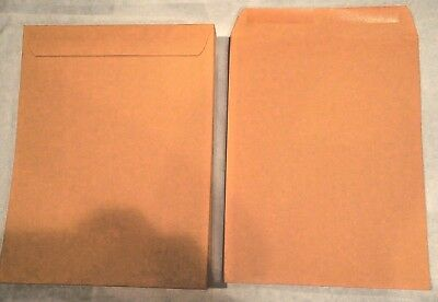*20* 10X13 Manila Kraft Catalog Shipping Mailers Envelopes W/ Gummed Closure New