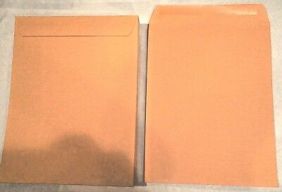 *10* 10X13 Manila Kraft Catalog Shipping Mailers Office Mailing Envelopes Gummed