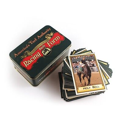America's Turf Authority Racing Daily Form 100th Anniversary Trading Cards