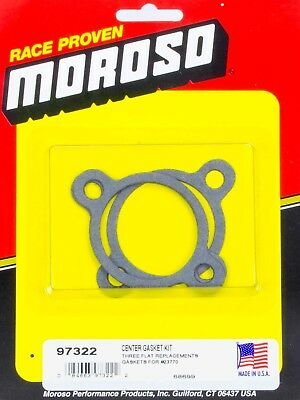 Moroso 97322 Oil Bypass Plate Gasket Fits Small Block Chevy - Sold Individually