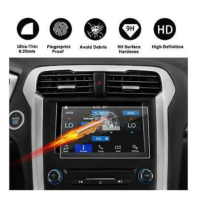 2013-2018 Ford Fusion sync2 sync3 Car Navigation Screen Protector Tempered Glass