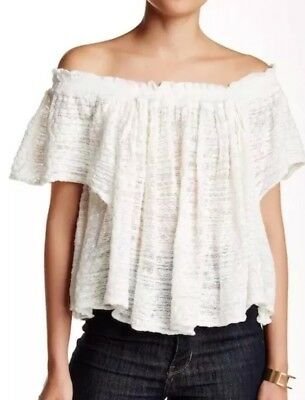 Free People By Your Side Sweater Ivory Size Small 2560 Picclick